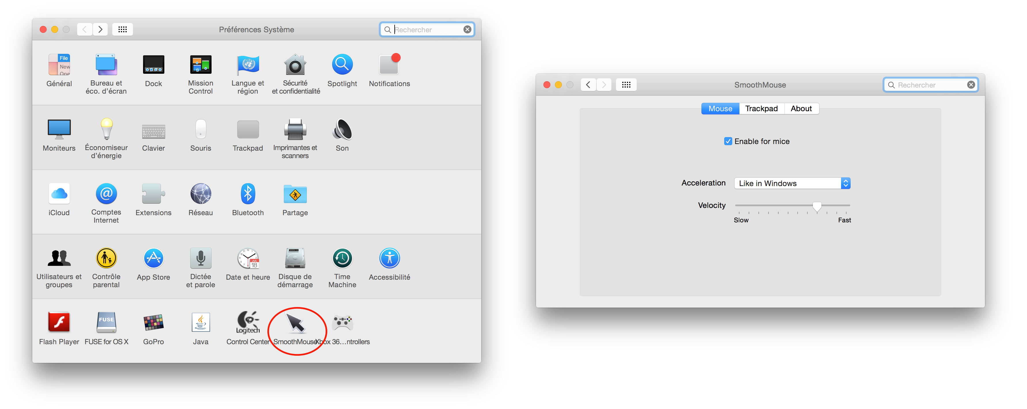 Mac OS X : remove the mouse acceleration | The Geek Trotter