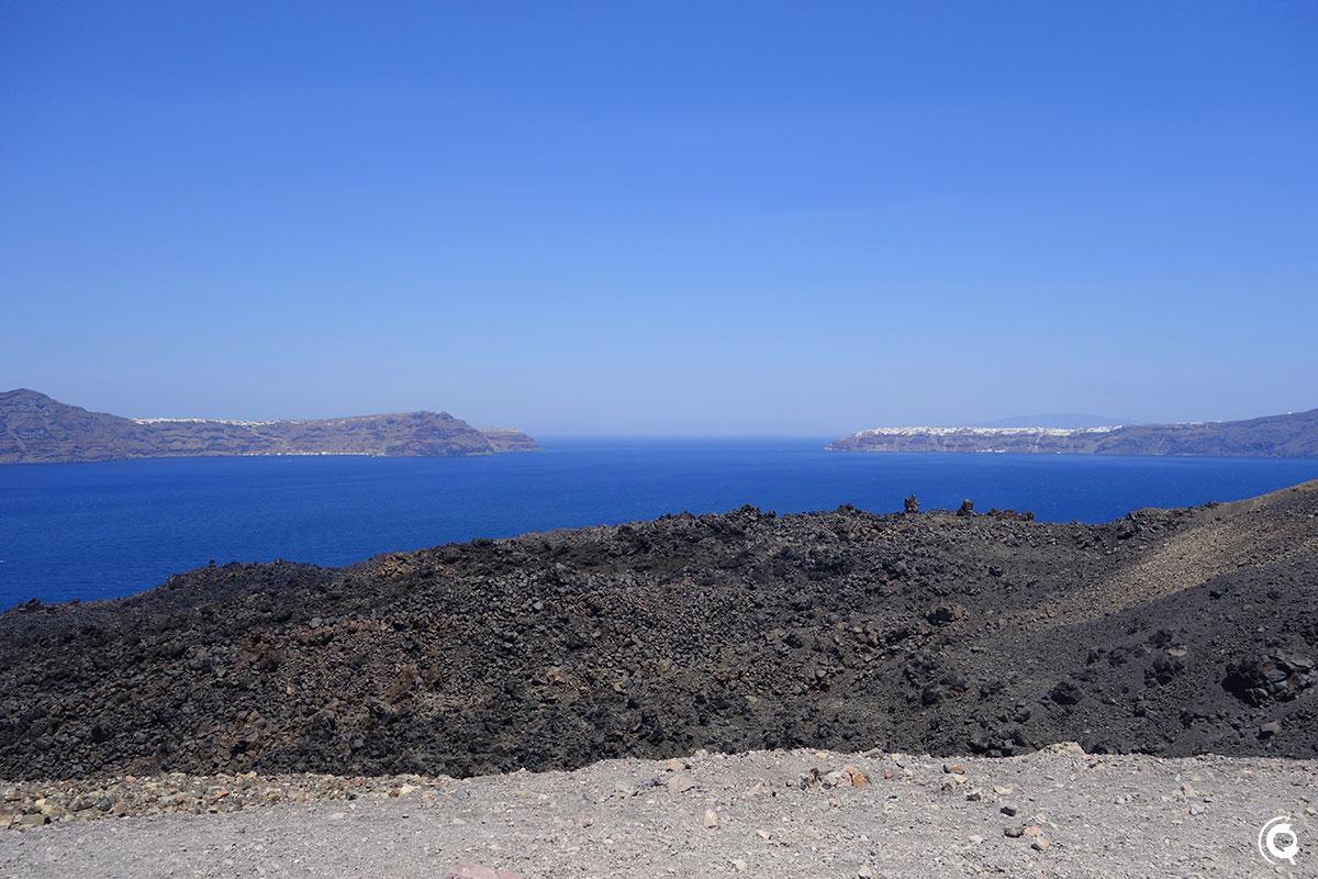 Vue depuis le sommet du volcan