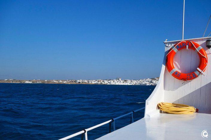 Navette en bateau Náoussa - Monastiri