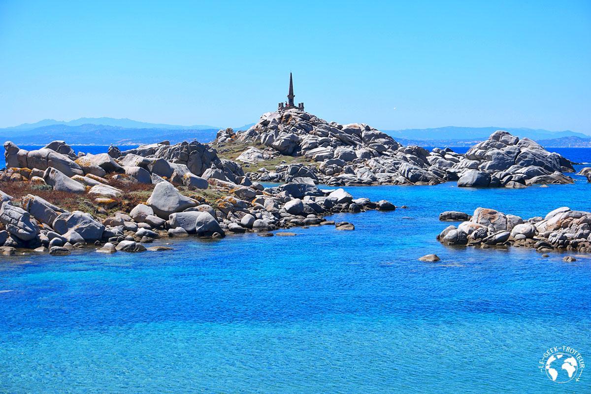 Une plage des îles Lavezzi