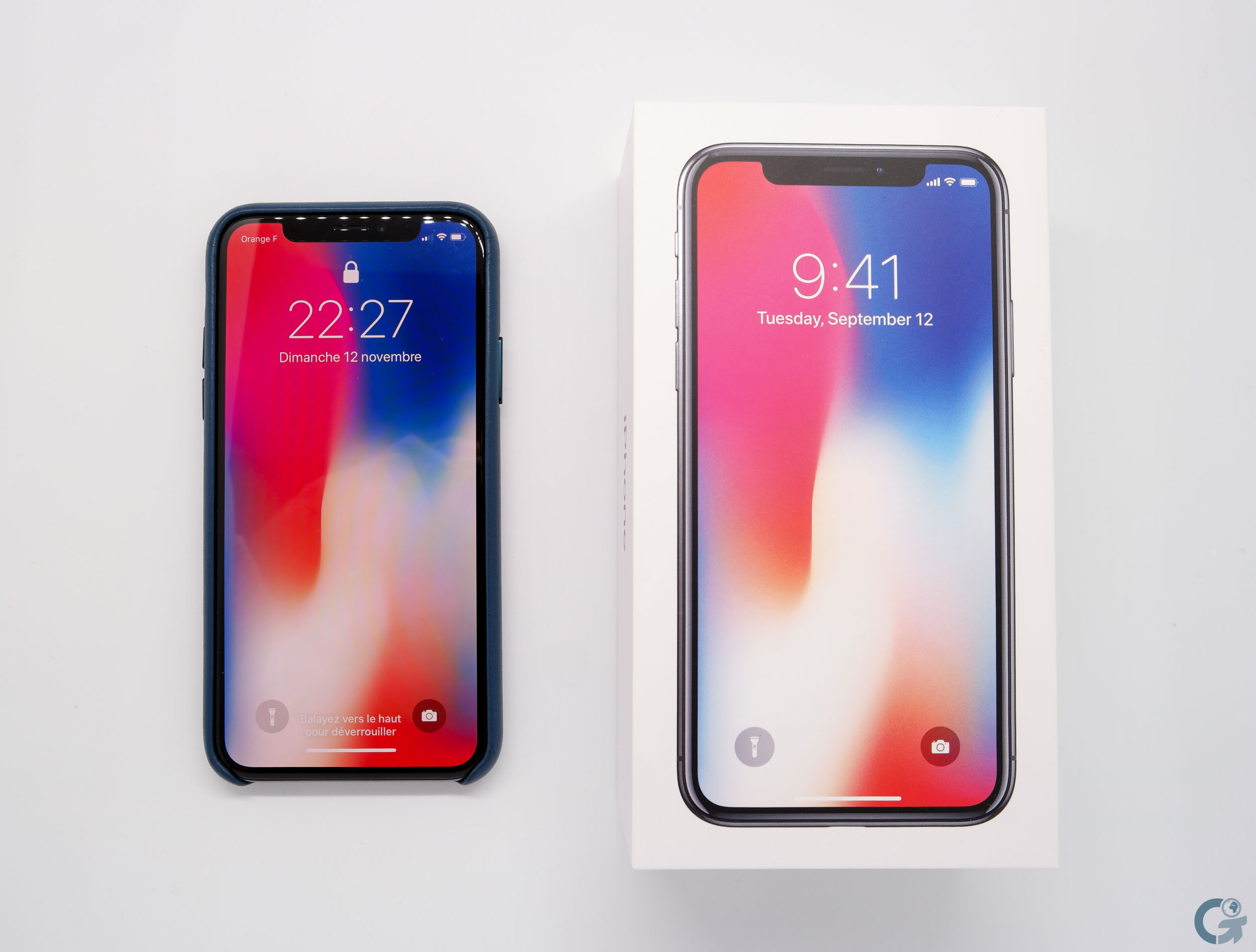 Boîte iPhone X
