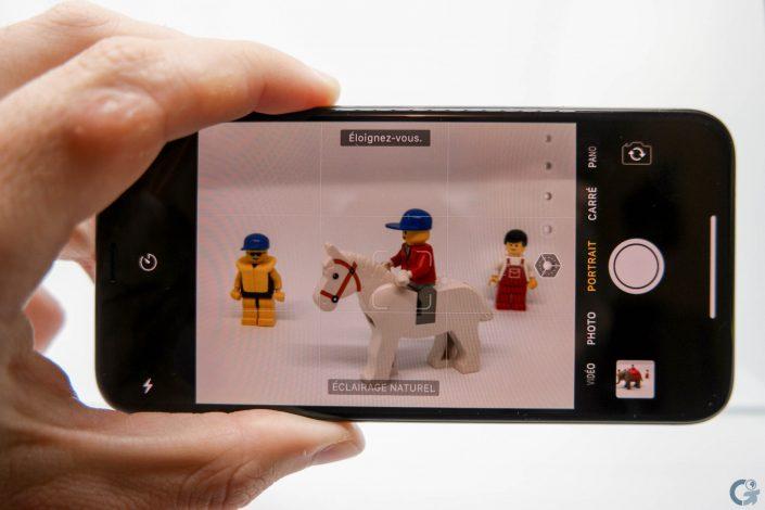 Mode portrait de l'iPhone X