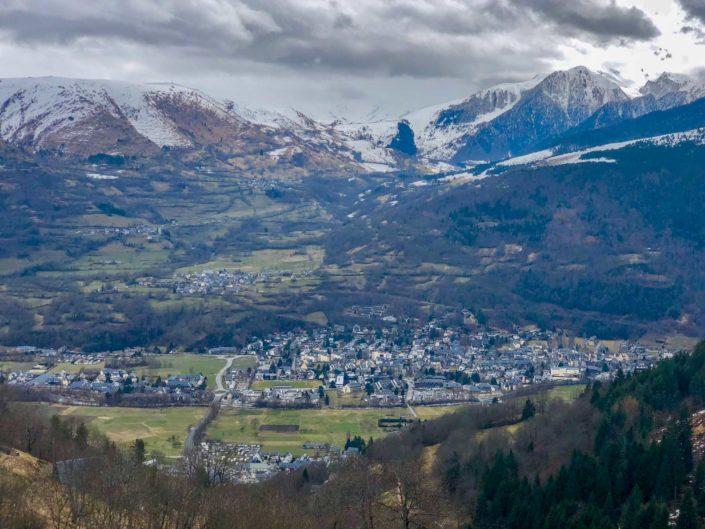Saint-Lary vu du ciel