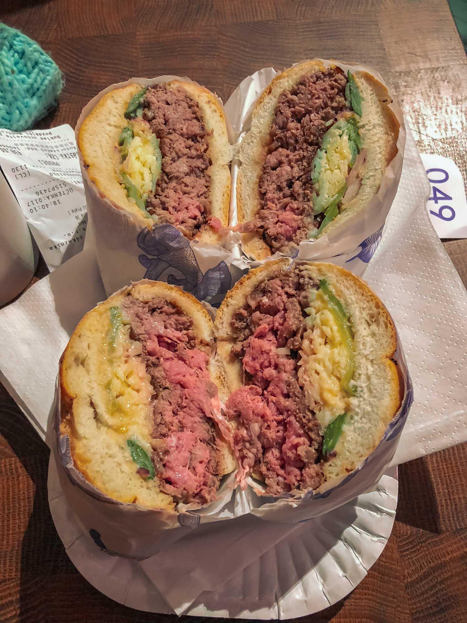 Burgers de la boucherie Naše maso