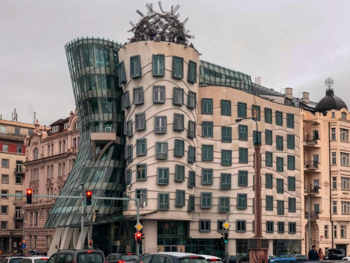 La Maison Dansante (Dancing House) à Prague