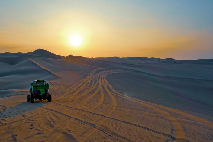 Des dunes à perte de vue...