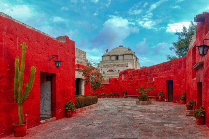 Le monastère Santa Catalina à Arequipa