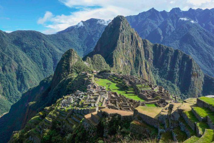 Découverte du célébrissime Machu Picchu