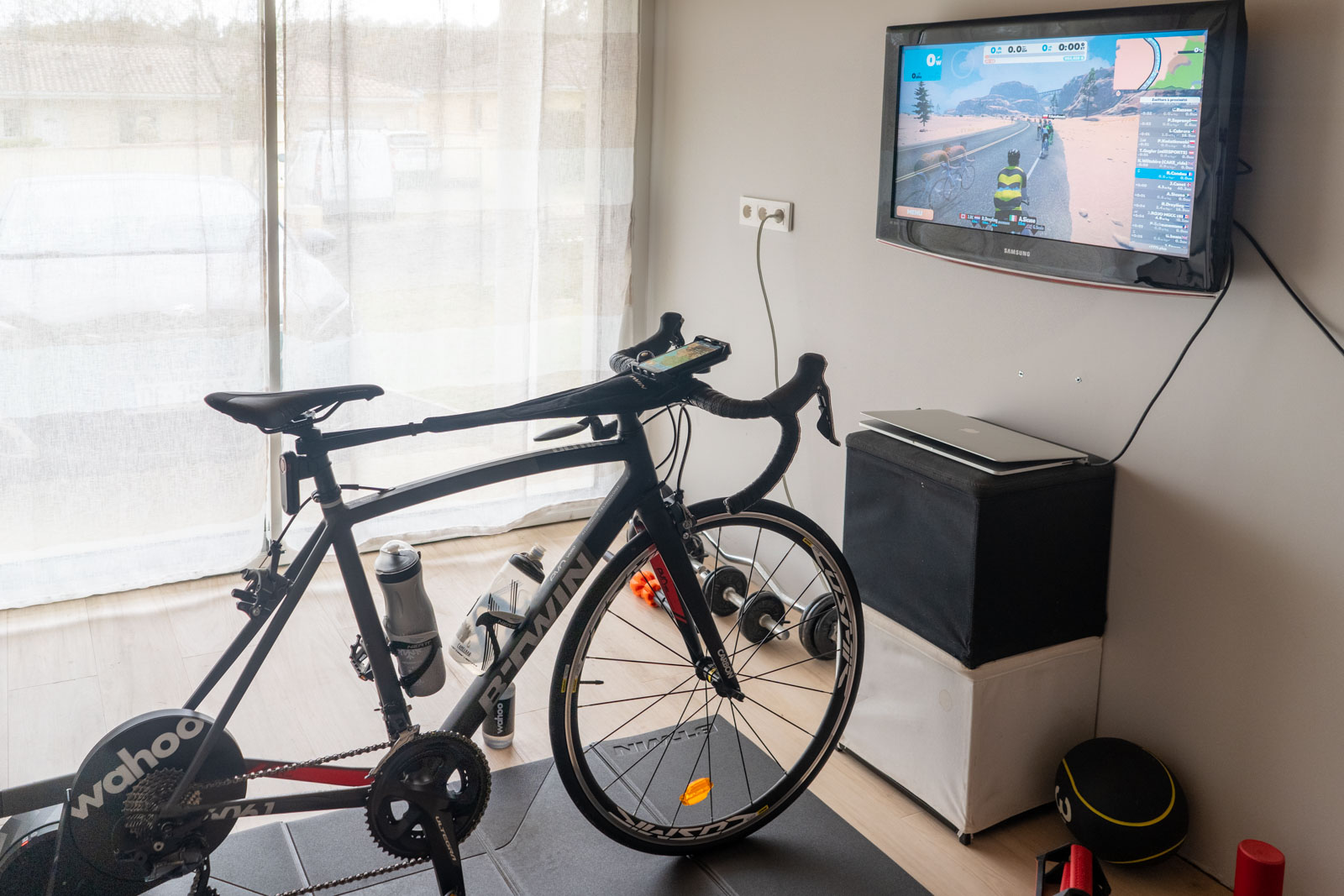 Setup home-trainer